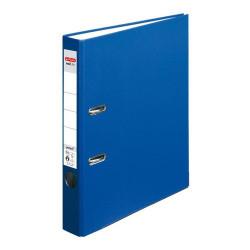 Šanón pákový A4 Herlitz 5cm tmavo modrý maX.file