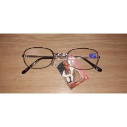 Dioptrické okuliare na čítanie čierne M141 + 1,0