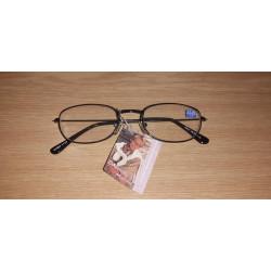 Dioptrické okuliare na čítanie čierne M2003 + 1,0
