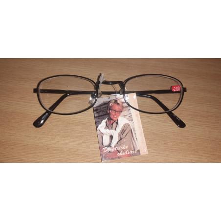 Dioptrické okuliare na diaľku mínusky - M2030 -2,0