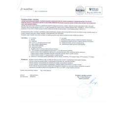 Certifikát AQUA NATURA