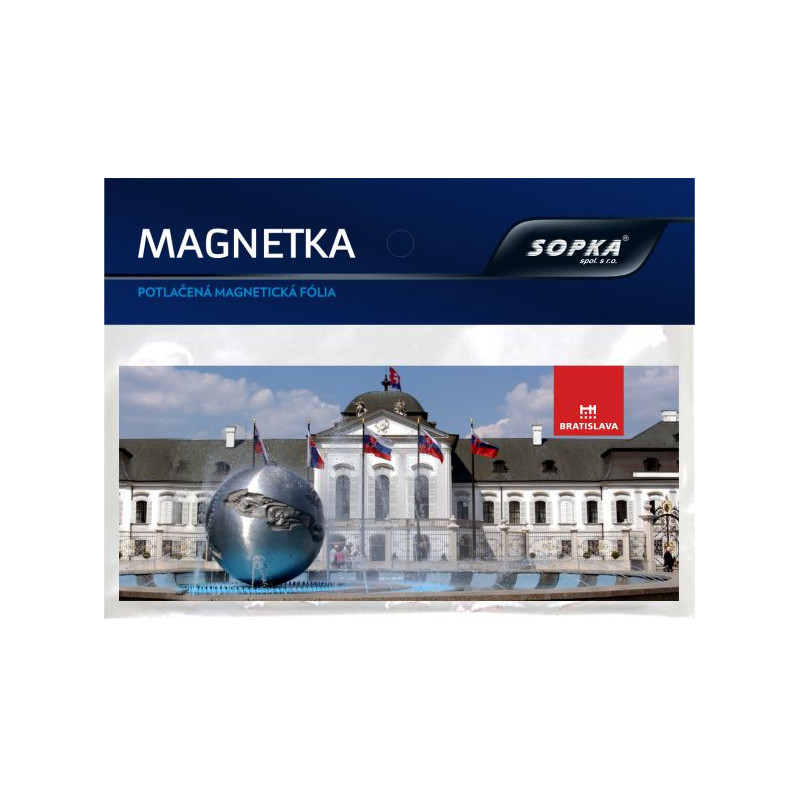 Magnetka BRATISLAVA č.153