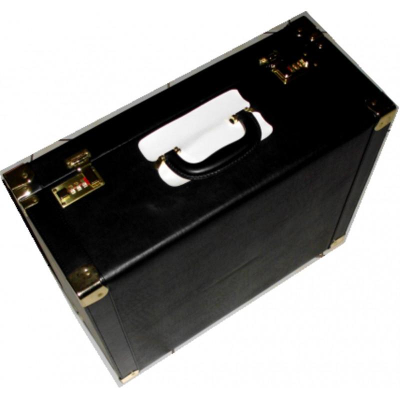 Kožený kufor na okuliare Akcia
