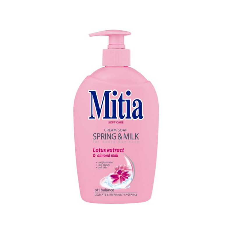 Mitia krémové mydlo Spring and Milk 500ml