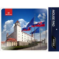 Darčeková podložka pod myš Bratislava č.138